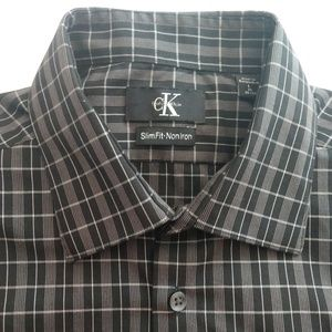 NWOT Calvin Klein Men's Long Sleeved Dress Shirt